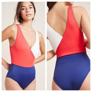 Anthropologie one piece bathing suit